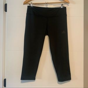 Adidas | Black Capri Leggings